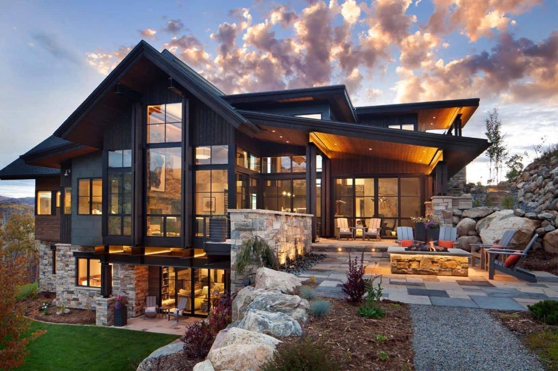 дома в стиле шале одноэтажные