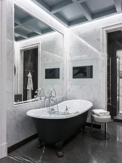Мрамор в ванной? мы говорим «да»!