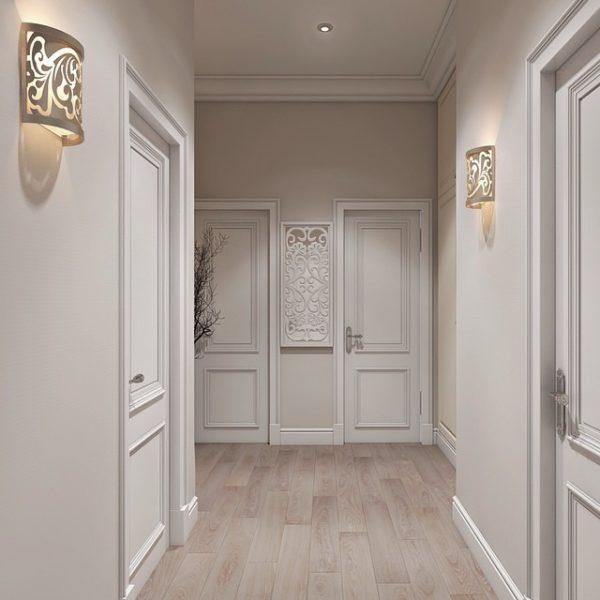 6 советов по организации освещения в коридоре квартиры и дома + фото