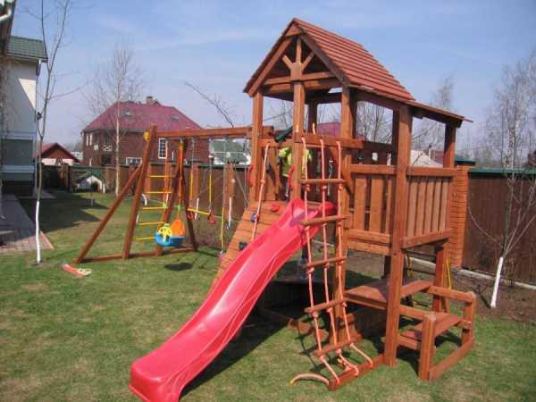 Детские площадки для дачи: 80 фото оригинальных идей оформления
