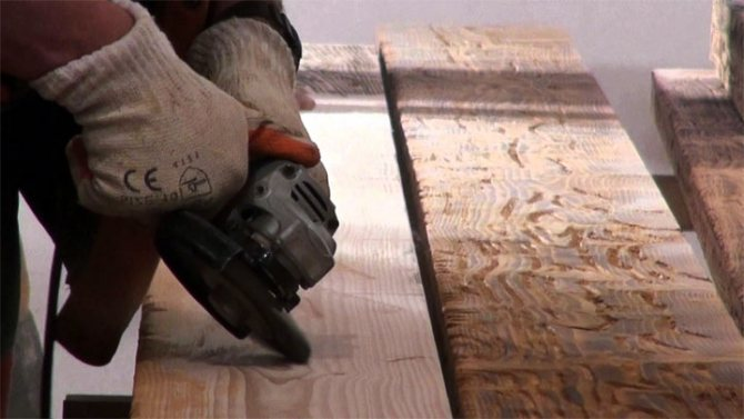 машинка для браширования древесины