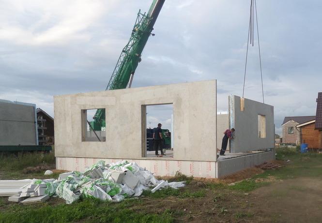 Панели трехслойные железобетонные: стеновые, для жилых домов