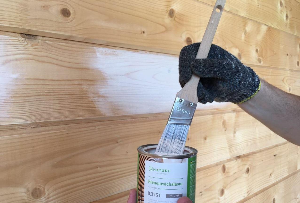 Чем и как покрасить имитацию бруса внутри и снаружи дома