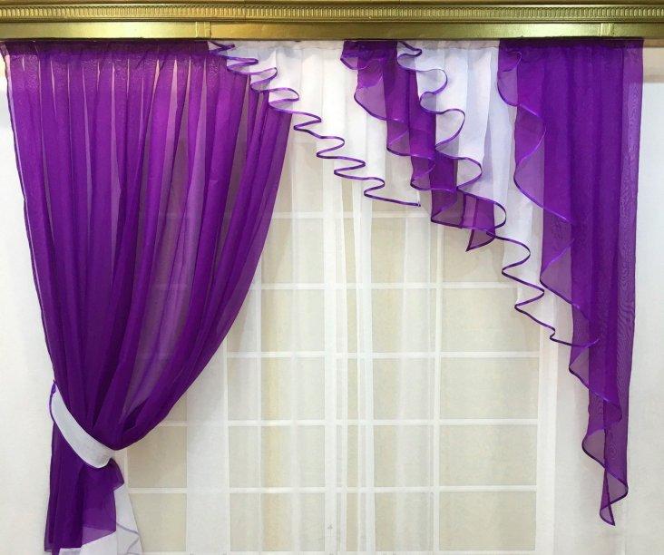 Красивые и стильные фиолетовые обои: 30 фото в интерьере