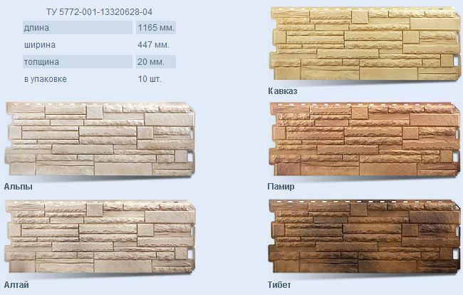 Технология отделки дома фасадными панелями под камень + достоинства и недостатки декоративных панелей из искусственного камня