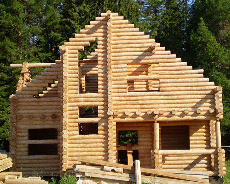 Дома из сруба (90 фото) - лучшие проекты 2019 года. строительство деревянных домов своими руками.