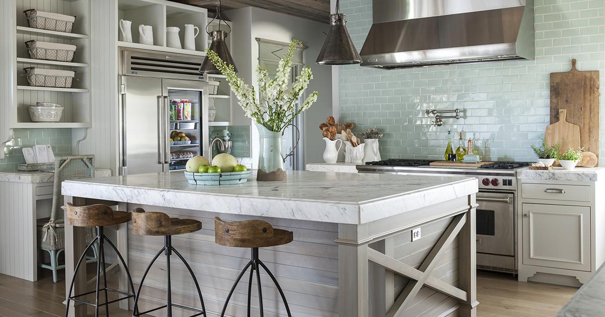 Дизайн кухни в стиле прованс и его отличительные особенности