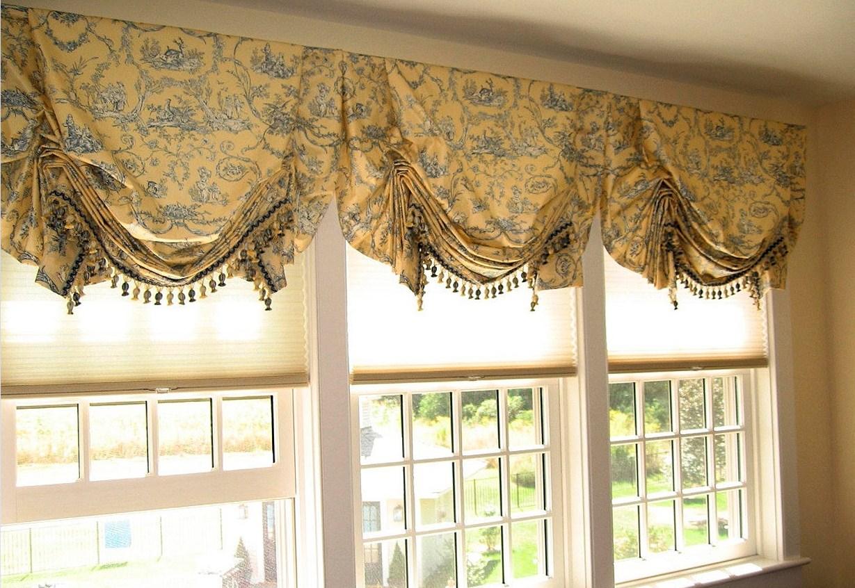 шторы в английском стиле фото