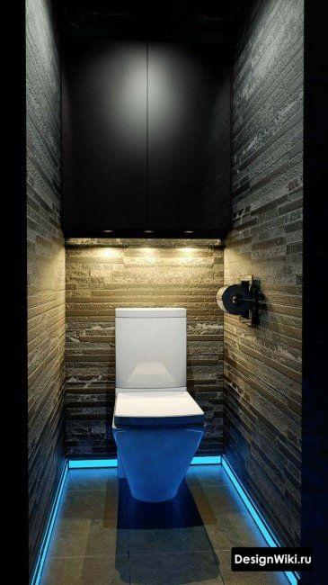 Чем отделать стены в туалете: варианты отделочных материалов