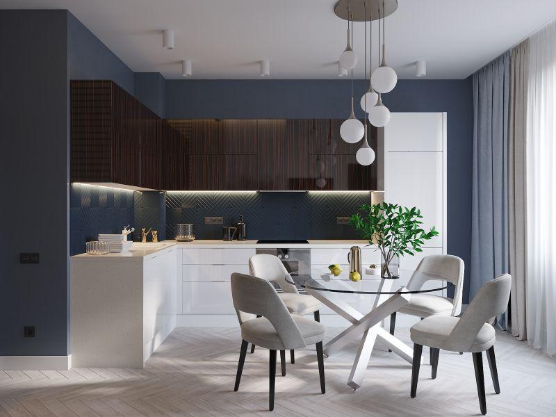 Дизайн проект кухни: мебель, стиль, расстановка - 75 фото