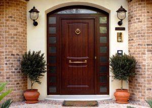 Входные двери: стандартные размеры с коробкой