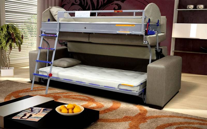 Кровать-трансформер для малогабаритной квартиры (60 фото): кровать-стол и кресло-кровать, кровать-комод и шкаф-кровать в комнате