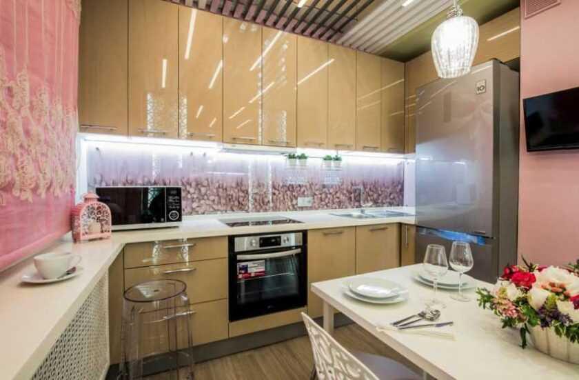 Фартук для кухни из стекла: фото каталог, разновидности, цены