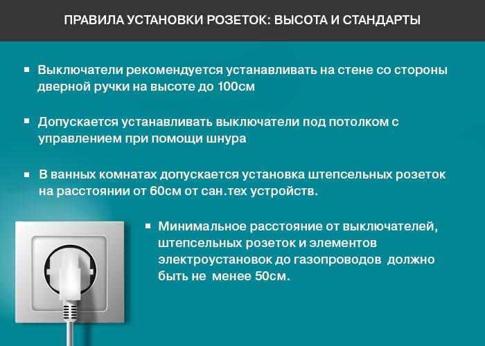 Обозначение розеток и выключателей на чертежах и схемах: чтение электросхем