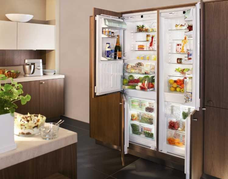 Как встроить холодильник в кухонный гарнитур: требования к установке, порядок монтажа, как встроить обычный холодильник.