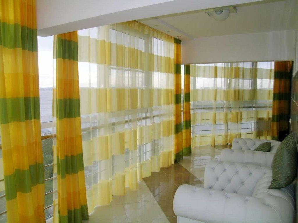 Желтые шторы — лучшие сочетания, удачные комбинации и интересные проекты оформления при помощи штор желтого цвета (115 фото)