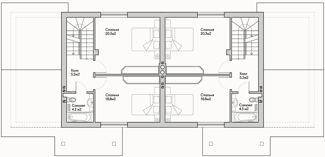 Как оформить дизайн таунхауса комфортно и практично