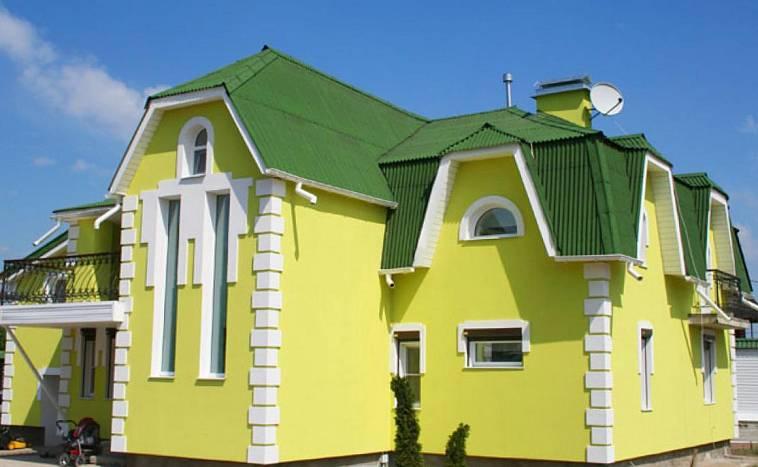 Фасадная краска по штукатурке для наружных работ: расход на 1 м2, силиконовая и водоэмульсионная продукция для фасада и внутренних работ