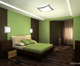 Голубая спальня - идеи оформления интерьера