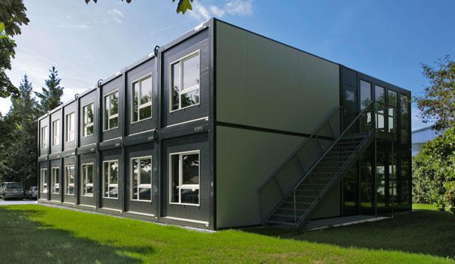 Модульный дом (90 фото) - лучшие технологии строительства для постоянного проживания