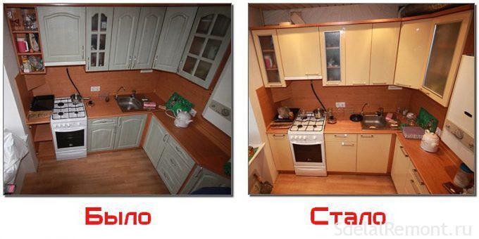 Как поменять фасады на кухонном гарнитуре своими руками