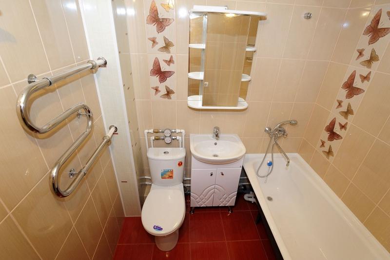 Высота крана над ванной: стандарты установки от пола, ванной и стены с фото примеров