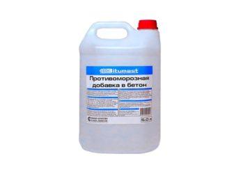 Противоморозные добавки в бетон - как использовать при минусовых температурах