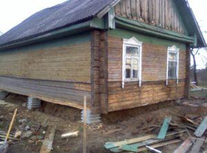 Строим новый дом вокруг старого