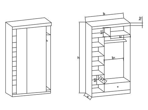 Шкаф-купе своими руками - чертежи описание (56 фото): проект и схема с размерами, пошаговая инструкция