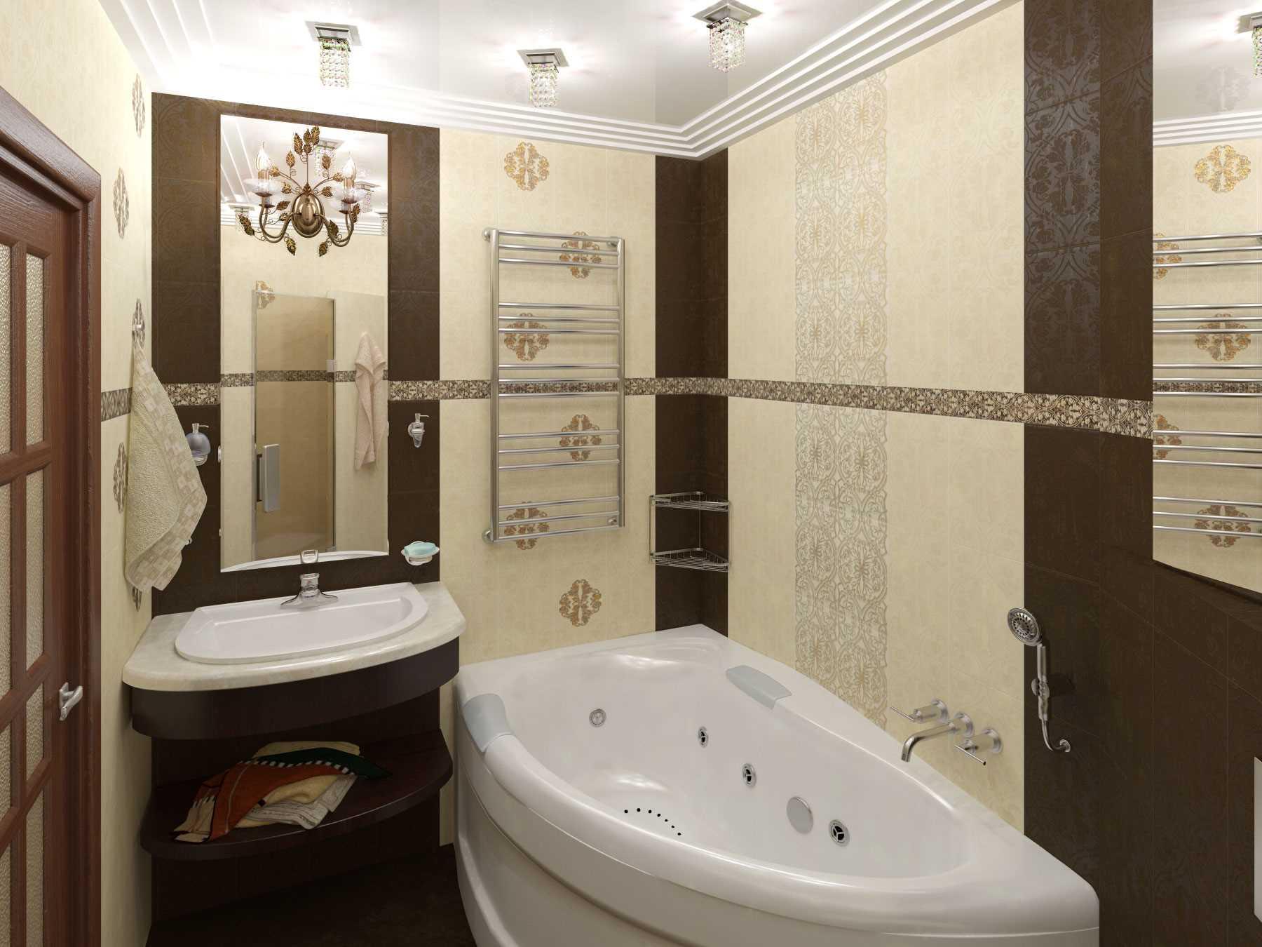 ванна 5 кв м дизайн