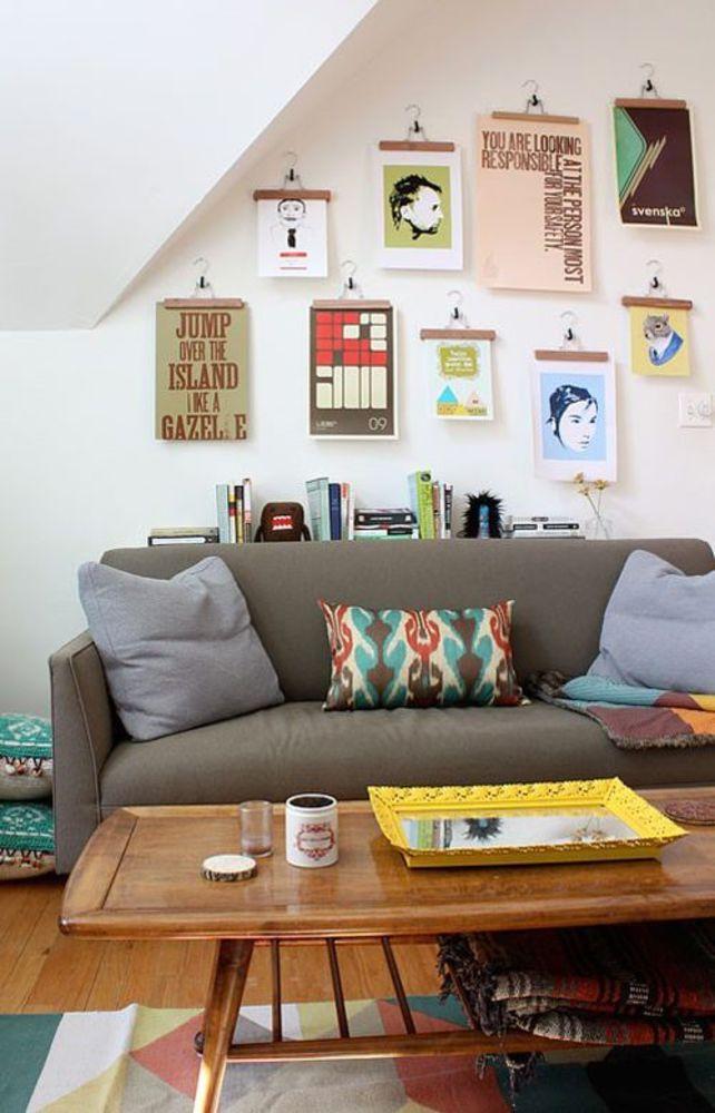 Как повесить картину на стену - 10 простых способов