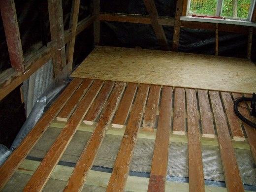 Укладка осб на деревянный пол: технология и нюансы монтажа