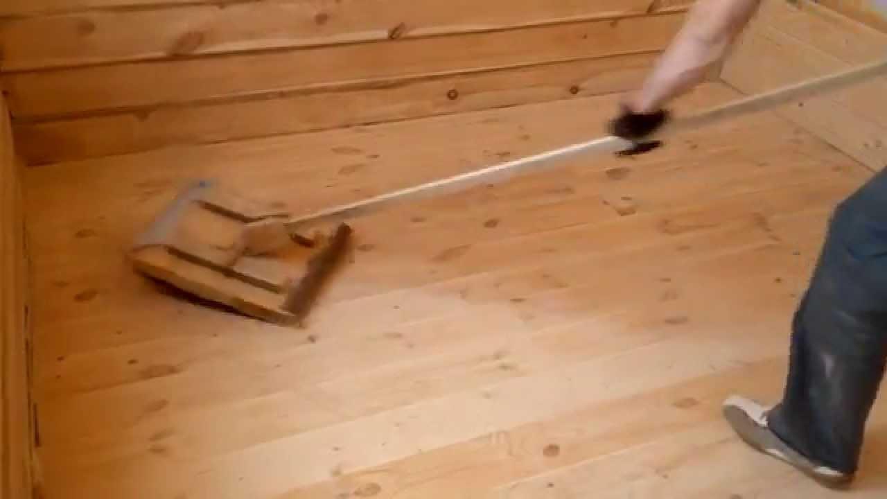 шлифовка циклевка деревянного пола