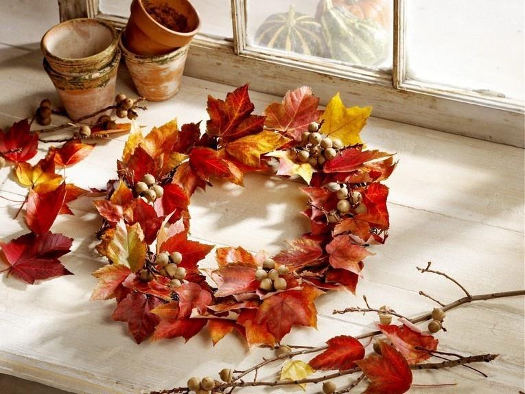 Осенний декор: 10 красивых идей для дома – woman delice