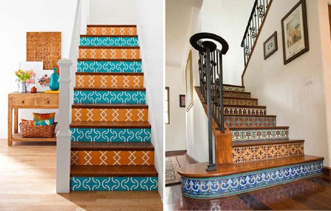 Как правильно красить лестницу в доме?