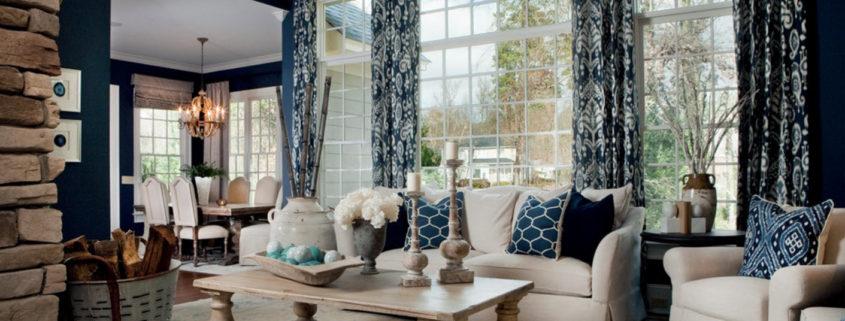 Дизайн штор для гостиной: выбираем занавеси по стилю оформления