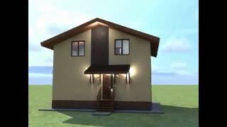 Проекты домов из пеноблоков с мансардой: преимущества мансардного этажа, примеры проектов, фото
