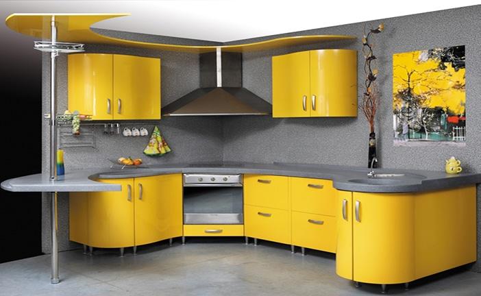 Цвет фасада кухни— как выбрать удачный вариант? (+70 фото)