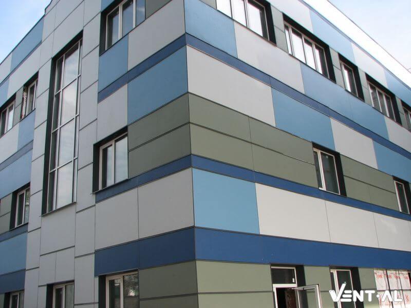 Особенности монтажа навесных вентилируемых фасадов из керамогранита