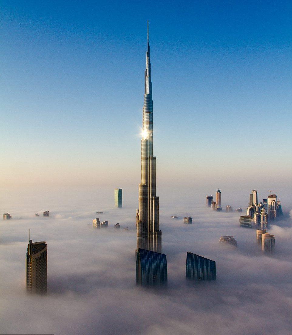 самый высокий небоскреб в мире дубай