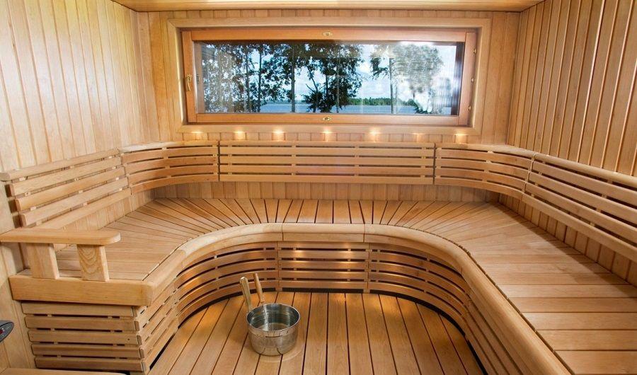 баня в современном стиле