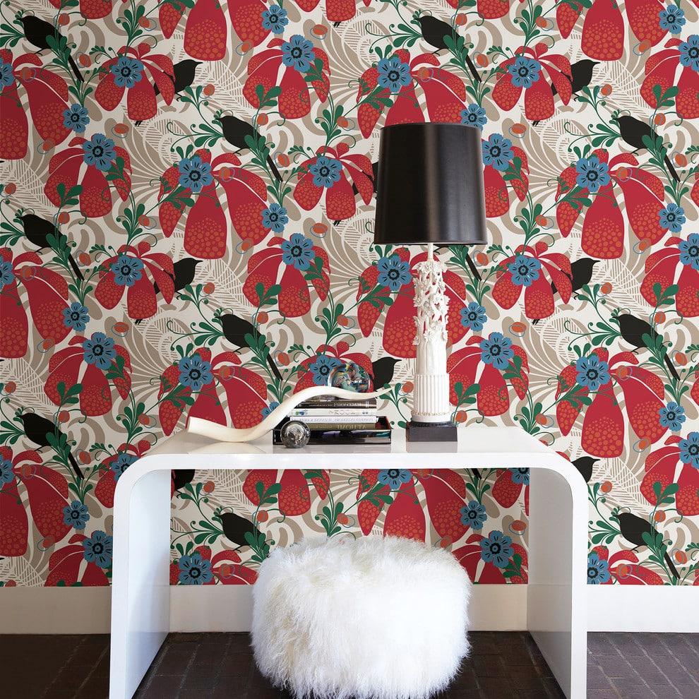 Дизайн обоев (131 фото): ремонт квартиры, варианты поклейки обоев в комнате, идеи декора спален с разными стенами