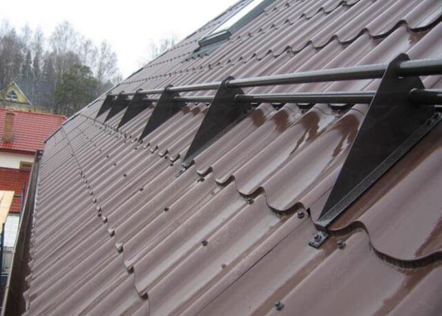 снегозадержатели на крышу в леруа