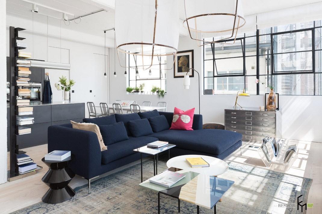 стиль лофт в интерьере квартиры