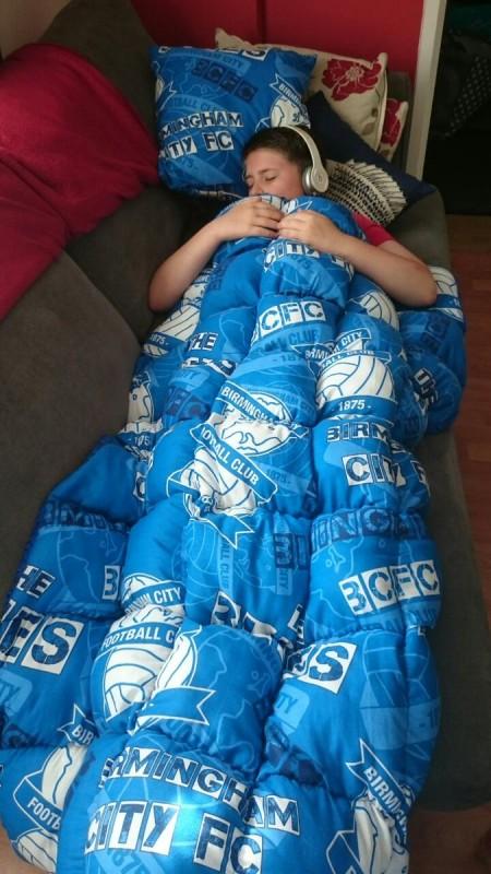 Купить одеяло с утяжелителем