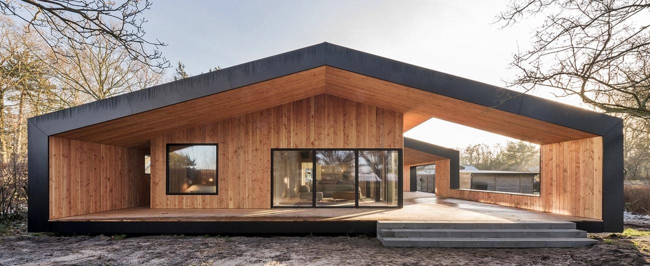 Загородный дом в скандинавском стиле (+75 фото)
