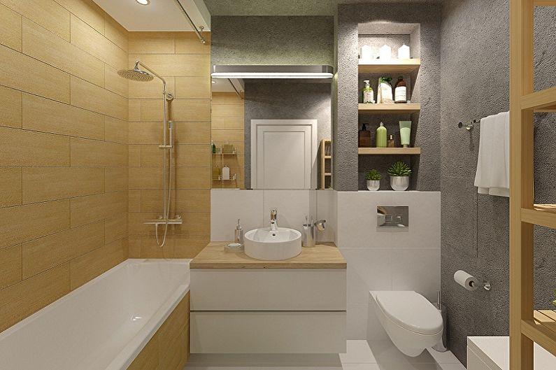 Дизайн ванной комнаты 4 кв м в 2020 году (50 фото с эффектными современными идеями)
