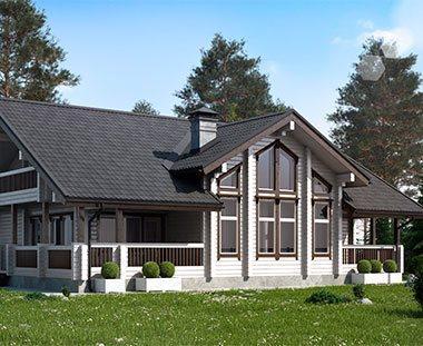 Фото интерьеров домов из клееного бруса и дизайн