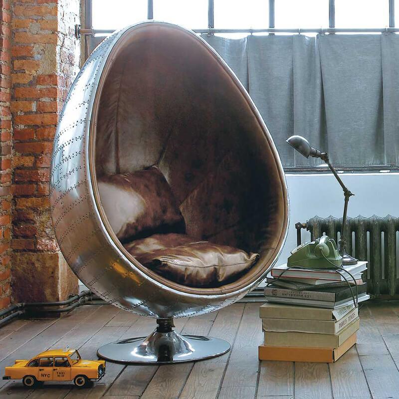 Кресло яйцо — виды и особенности моделей