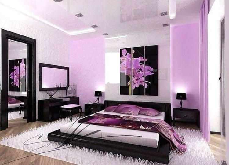 Цвет: как использовать фиолетовый цвет в интерьере?